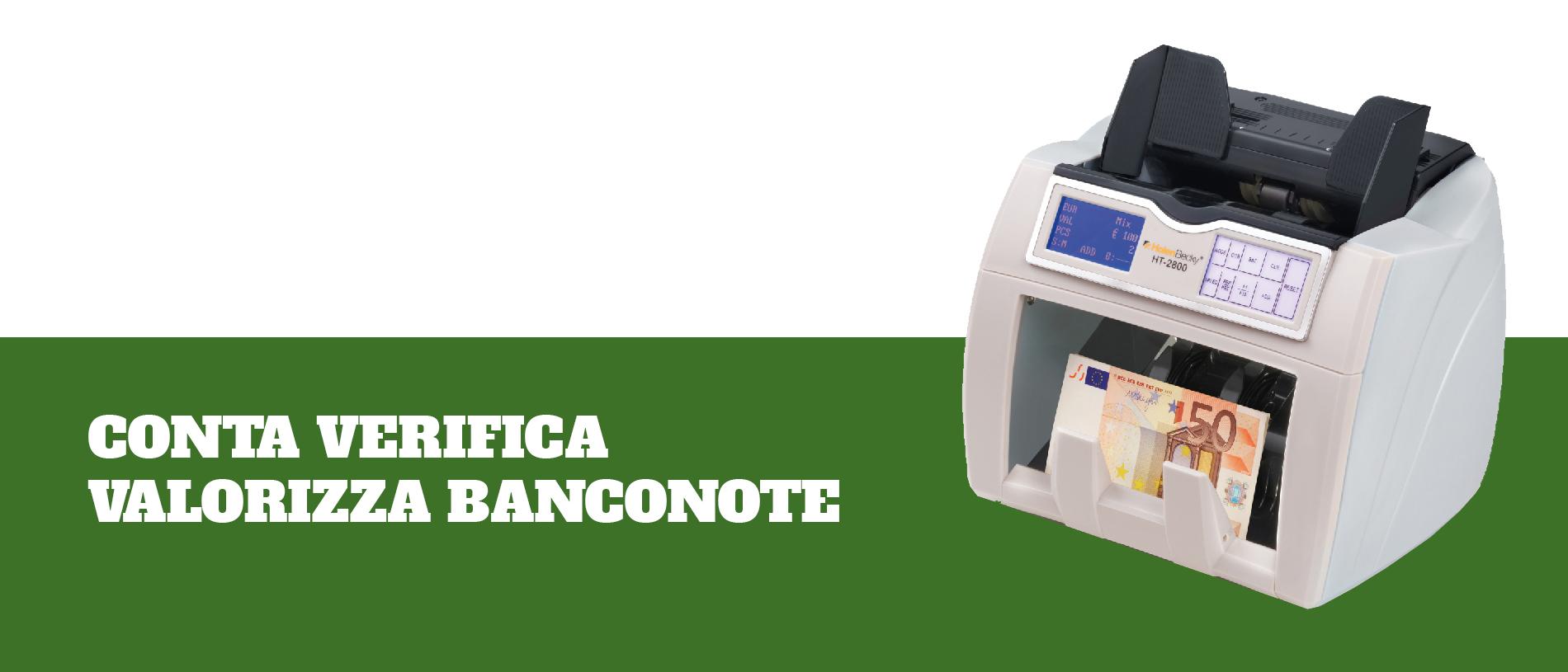 CONTA VERIFICA VALORIZZA BANCONOTE